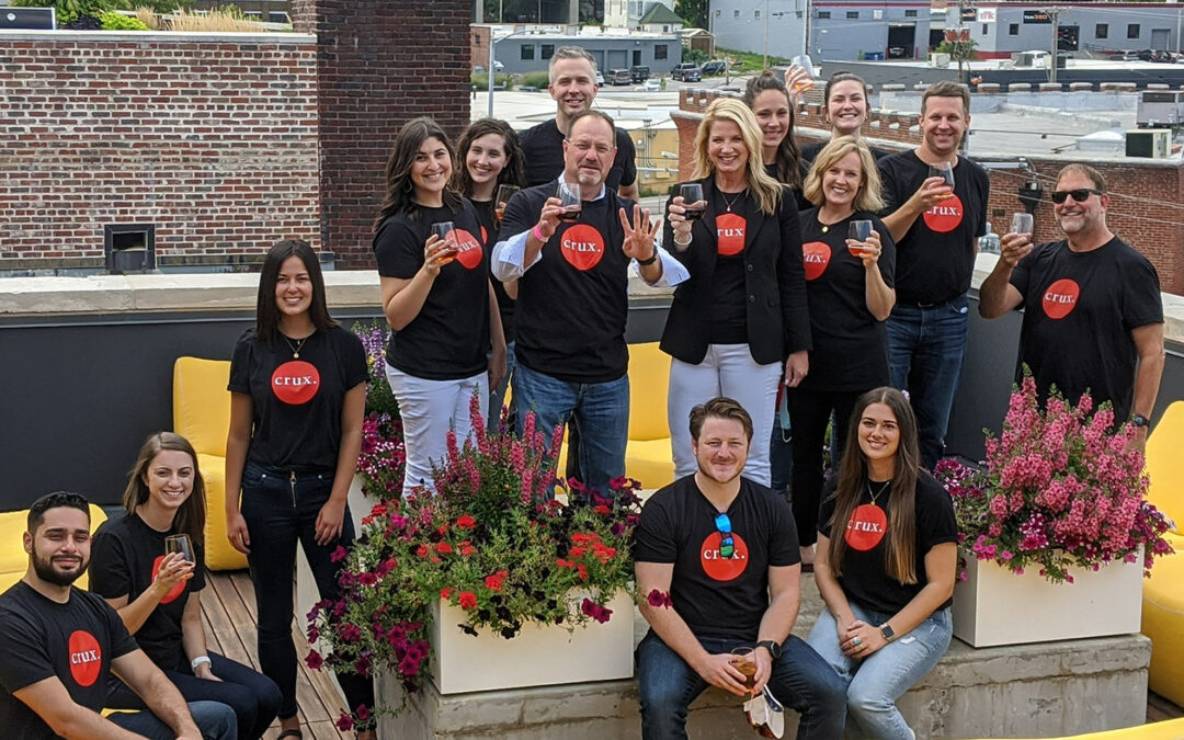 Crux named to Business Journal's Best Places to Work for 2021