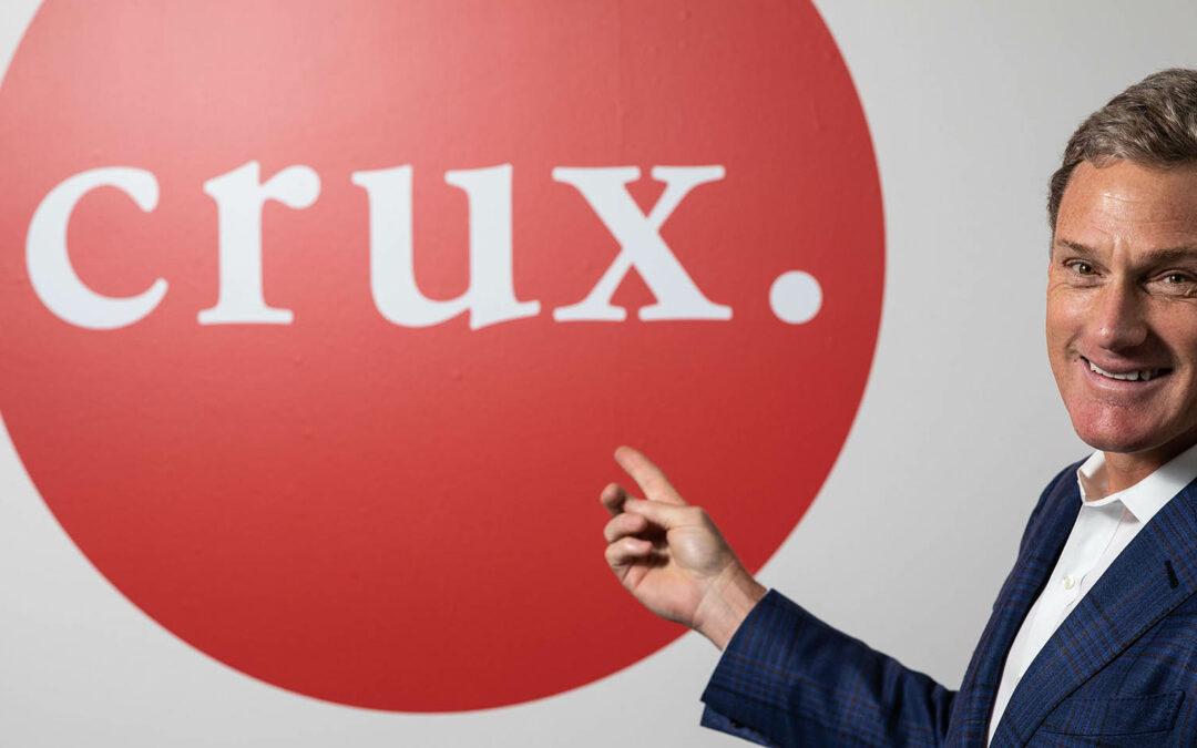 Crux, Burcham investment featured in Kansas City Business Journal