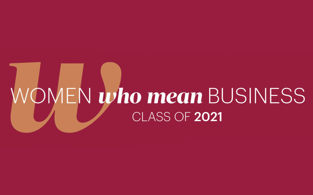 Melea McRae inducted into Women Who Mean Business 2021 class
